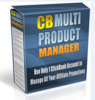 Thumbnail Clickbank Multi Product Manager Website