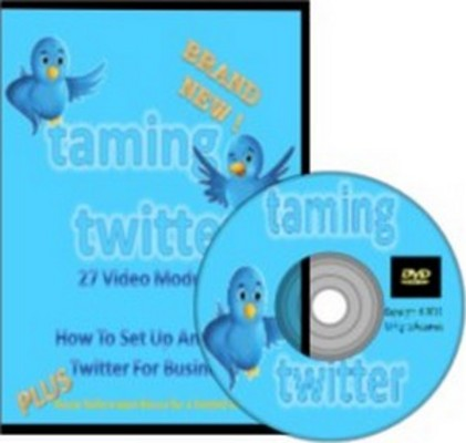 Product picture Twitter Marketing Video Course