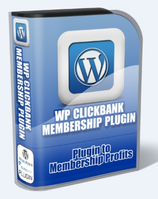 Product picture Clickbank Membership Plugin Website