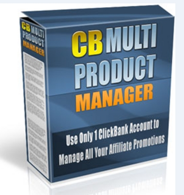 Product picture Clickbank Multi Product Manager Website